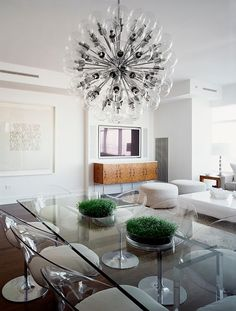 Contemporary Midtown Apartment with Views of Central Park by New York based interior design firm Cara Zolot Interiors