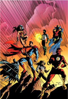 Justice League of America by Howard Porter