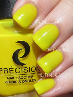 The PolishAholic: Precision Summer 2013 Get Loud Collection Swatches