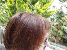 Cécile nous présente sa couleur noisette ! Avant : la base de Cécile est un blond avec quelques racines blanches. Application : coloration végétale khadi noisette en 1 seule étape. Temps de pause 1h30. Après : résultat après oxydation (le lendemain) :...