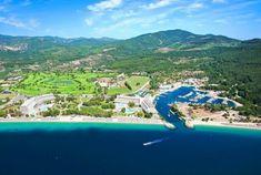 A fost vândut complexul turistic grec Porto Carras | evisionturism Macedonia Greece, Greece Travel, Summer Fun, Cool Photos, Travel Destinations, Villa, Around The Worlds, River, Vacation