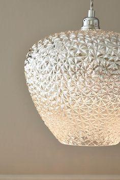 blanc abat-jour mat, glasschirm 20 CM bille de verre