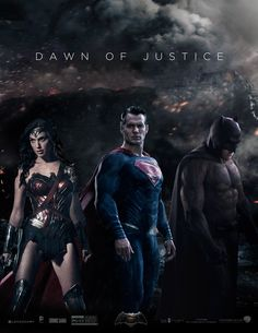 Dawn of Justice Fan Made Poster.