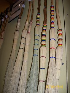 Rainbow brooms