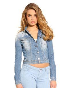 Veste en jean guess pour femme