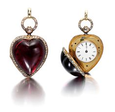 Patek Philippe heart-form watch made in 1864 - priceless.
