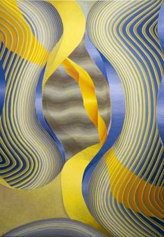 #MKGWatchlist: New York based artist, Theresa Daddezio's optical paintings explore Color Field painting with biomorphic abstract referencing body movements through her organic shapes and colors. #wcw #womanartistwednesday #womancrushwednesday #mkgart #mkgartmanagement #womenartists #femaleartist #contemporaryart #painting #opart #opticalillusion #nycart #newyork #theresadaddezio #dcmooregallery New York Studio, Art Watch, Nyc Art, Spring Nature, Organic Shapes, Optical Illusions, Contemporary Artists, Painting & Drawing, Abstract