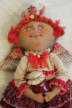 Ангел-сладкоежка - примитив,примитивная кукла,примитивы,текстильная кукла