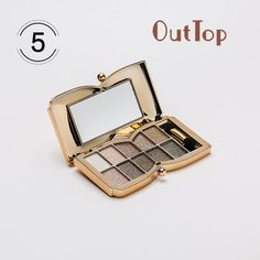 New 10 Colors Shimmer Eyeshadow Eye Shadow Palette Makeup maquiagem Cosmetic Set Ju 11 #Affiliate