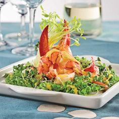 Salade de homard, sauce à la mangue - Recettes - Cuisine et nutrition - Pratico Pratiques