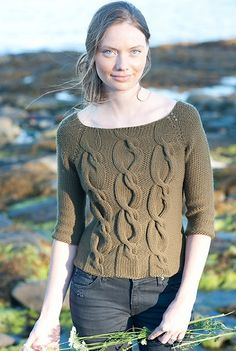 Sophie Pullover, de Pam Allen. http://www.ravelry.com/patterns/library/sophie-pullover