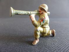 SOLDAT AVEC BAZOOKA QUIRALU ? ALUMINIUM ARMEE FRANCE MILITARY PATRIE US ARMY GI | eBay