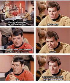 Oh Chekov, you are just too funny.
