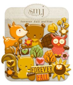 Forever Fall Puffies | Shabby Miss Jenn Designs