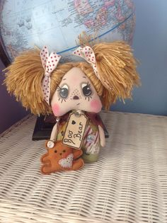 Ooak rag doll by Isaac and iris