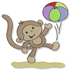 Monkeying Around Too is a summer set of Monkey designs and is the follow on set of our popular Monkeying Around set. If you loved Monkeying Around, you will love Monkeying Around Too!