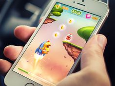 I love Mike from Creative Mints - his work is AWESOME!! iOS Game / Arcade