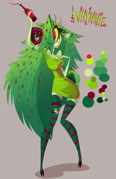Whynnie (Vapira transformation?) (VivziePop/Character)