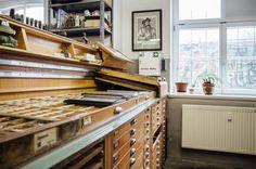 Grafikdruckwerkstatt im werk2 | 25h in Leipzig, Stilnomaden