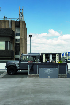 The 43 Club Land Rover - mobile cocktail bar: George Clarke's amazing spaces