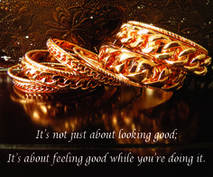 GOT TO HAVE IT GOLD BANGLES