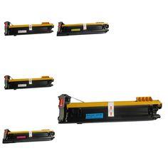 N 5PK Compatible A0DK132 Toner Cartridges For QMS Magicolor 4650 4650DN 4650EN