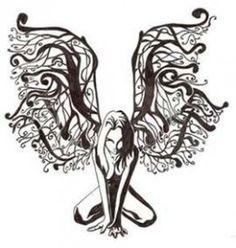 Dark Fairies Tattoos