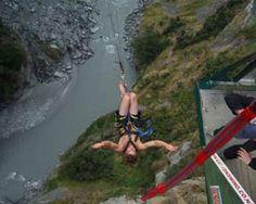 swing Nude zealand canyon new