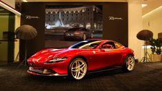 Ferrari Roma makes its Qatari debut My Dream Car, Dream Cars, New Luxury Cars, Design Language, Sexy Cars, Exotic Cars, Motor Car, Super Cars, Ferrari