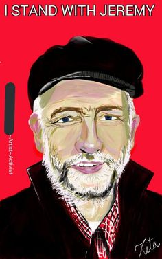 Jeremy Corbyn, A3 Size, Stand By Me, Original Art, A4, Poster, Fictional Characters, Etsy, Products