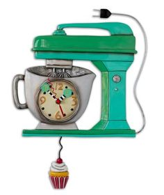 Vintage Mixer Green Clock Allen Designs * You can get more details by clicking on the image.