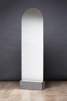 Mirror by Daniel Emma (inspired by a cemetery) Objet Deco Design, Freestanding Mirrors, Spiegel Design, Lampe Decoration, Floor Mirror, Home Accessories, Furniture Design, Interior Design, Wall