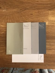 Dulux Colour Palette for kitchen/ hall/ living room overtly olive, polished pebble, chic shadow, white mist, denim drift Olive Living Rooms, Living Room Green, Living Room Paint, Dulux Paint Colours, Paint Colors For Home, Wall Colours, House Colors, Living Room Color Schemes, Colour Schemes