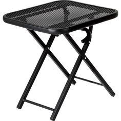 Garden Oasis Wrought Iron Folding Patio Table Outdoor Living