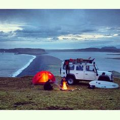 海外のおしゃれで可愛いキャンプ写真