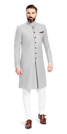 men& men& blazer for reception is part of Indian wedding wear - Indian Wedding Suits Men, Sherwani For Men Wedding, Mens Indian Wear, Mens Sherwani, Wedding Dress Men, Sherwani Groom, Wedding Outfits, Nigerian Men Fashion, Indian Men Fashion