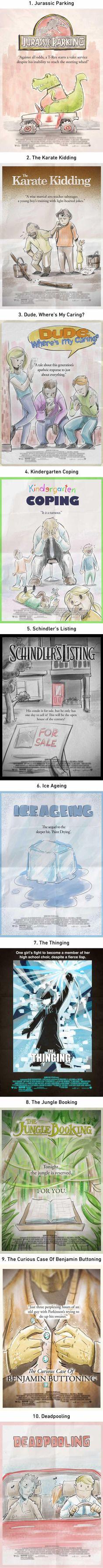 """Adding """"ing"""" to movie titles"""