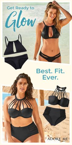 Best. Fit. Ever. Sign up and shop new swimwear arrivals in sizes 30A to 46G! Conquer the beach in sets you can count on.