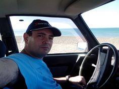 Yo.-  Playa Unión - Rawson Chubut Argentina.-