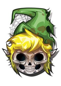 Link - Game Over Temporary Tattoo from Tatt Me Temporary Tattoos