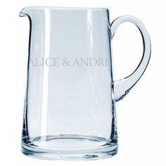 Personalised Glass Jug 3916D Personalised 1.7 Litre Glass JugThis beautiful handmade glass jug can be personalised with a message of your choice, which will be engraved around the centre of the jug.With its elegant but equally st http://www.MightGet.com/january-2017-13/personalised-glass-jug-3916d.asp