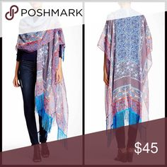 ❤️ RUANNA Boho Fringe Cardi Wrap **Additional Details & Photos will be added soon** 💟NEW WITH TAGS💟 RETAIL PRICE:   ITEM:   *   *   *   *   *   *    Material:  Color:  Item#:   🚫No Trades🚫 ✅ Offers Considered*✅ *Please use the blue 'offer' button to submit an offer. Boutique Sweaters Cardigans