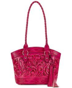 Patricia Nash Burnished Tooled Zorita Shoulder Bag   macys.com Fashion  Handbags, Tote Handbags 57384953da
