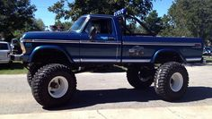 .Ford lifted truck