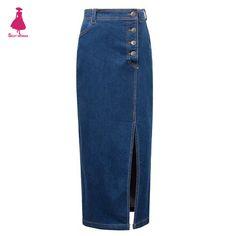 Урожай-классический-джинсовая-юбка-карандаш-ретро-свободного-покроя-высокая-талия-сплит-сексуальные-женщины-модный-кнопка-украшения.jpg (1000×1000)