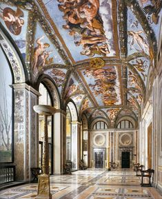 GO TO VILLA FARNESINA, Rome - To imagine the amazing parties there during…