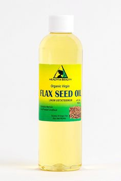 Flax Seed Oil Organic Carrier Virgin Cold Pressed Raw Pure 4 oz *** You can find more details by visiting the image link. (This is an Amazon Affiliate link and I receive a commission for the sales) Organic Oil, Essential Fatty Acids, Carrier Oils, Seed Oil, Vitamin E, Body Wash, Herbalism