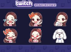 Fiverr freelancer will provide Graphics for Streamers services and draw custom emotes for your twitch including Number of Emotes or Badges within 15 days Yu Gi Oh, Cute Chibi Couple, Twitch Streaming Setup, Manga Anime, Emoji Stickers, Drawing Studies, Budget, Art Base, Learn To Draw