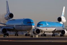 KLM MD-11's
