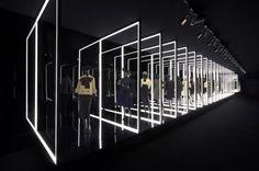Exhibition Esprit Dior in Seul Design Plaza, Stage Design, Event Design, Vitrine Design, Exhibition Booth Design, Retail Store Design, Zaha Hadid Architects, Expositions, Light Installation
